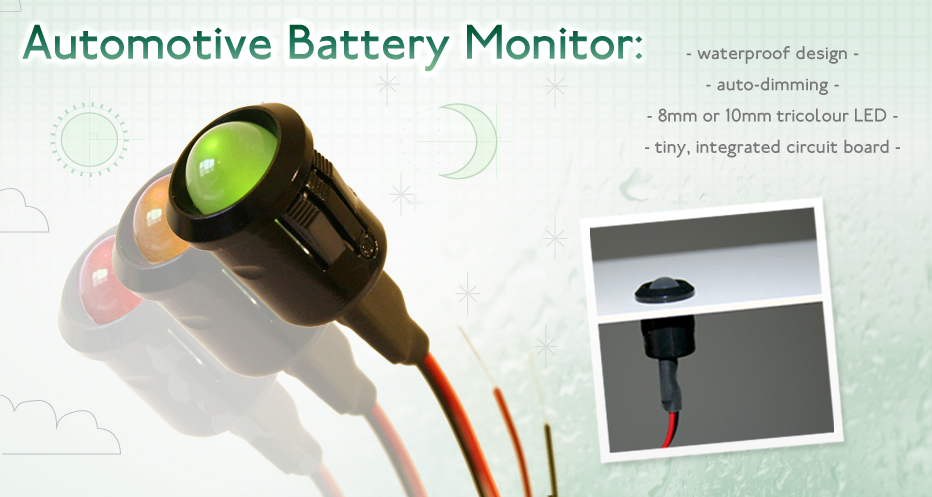 Sparkbright Eclipse Battery Voltage Monitor