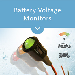 SparkBright battery voltage monitors